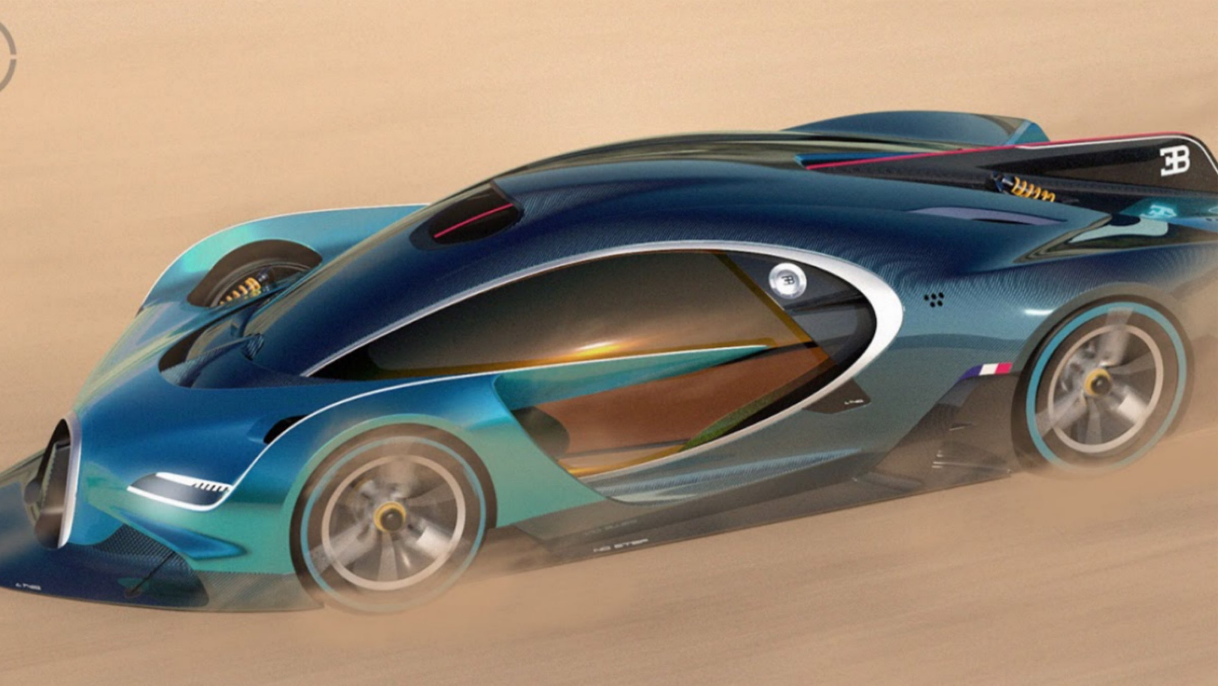 newest bugatti concept - HD 1920×1080