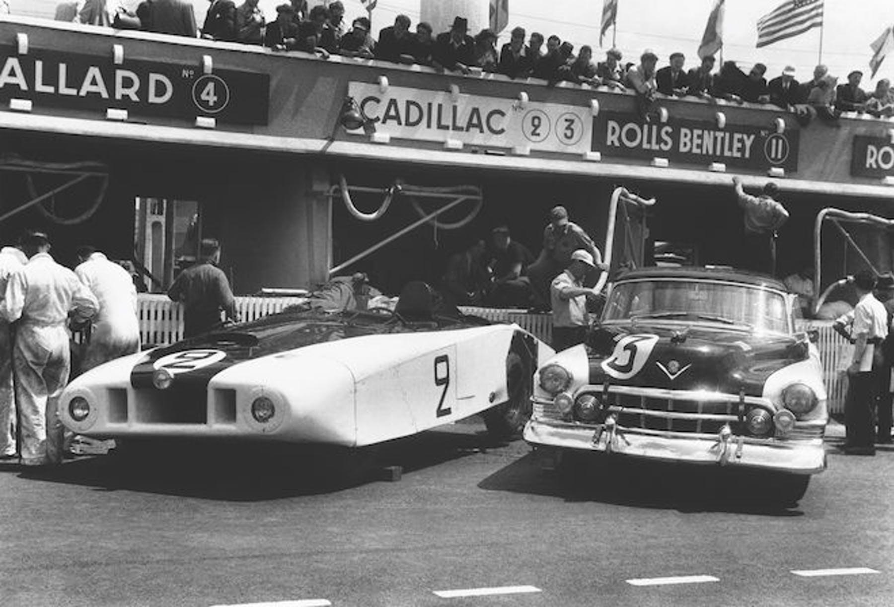 Cadillac Series 61 'Le Monstre' en Le Mans 1950