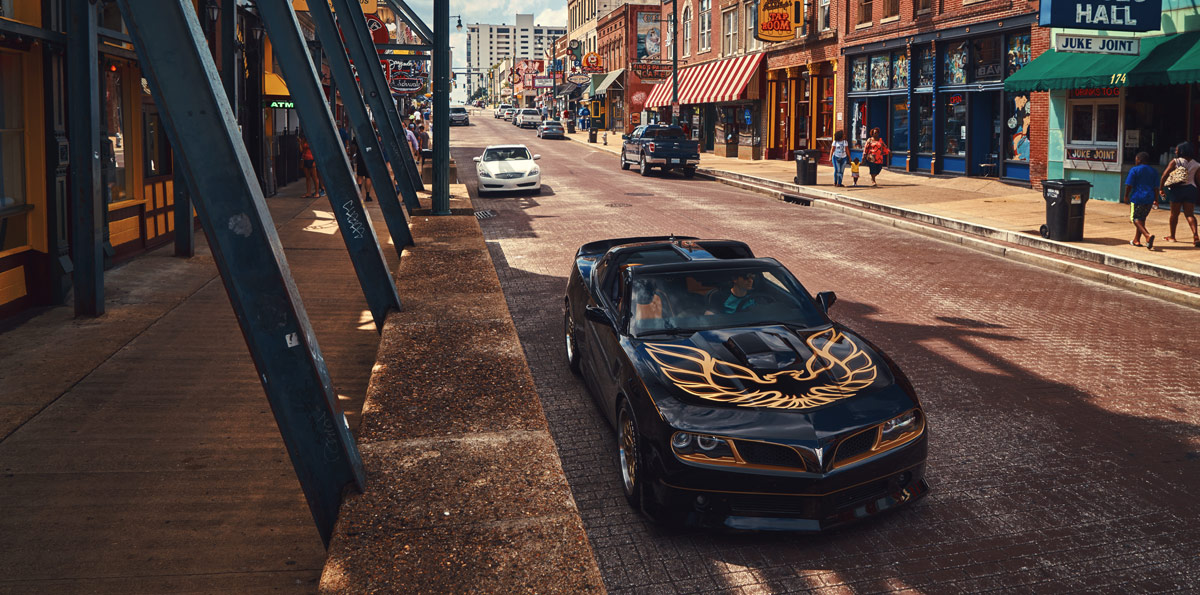 Chevrolet Camaro SS Bandit pueblo
