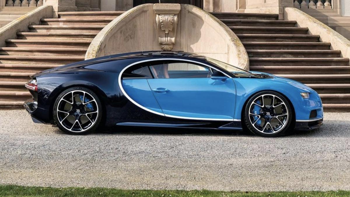 Coches que Pegasus no puede seguir: Bugatti Chiron (II)