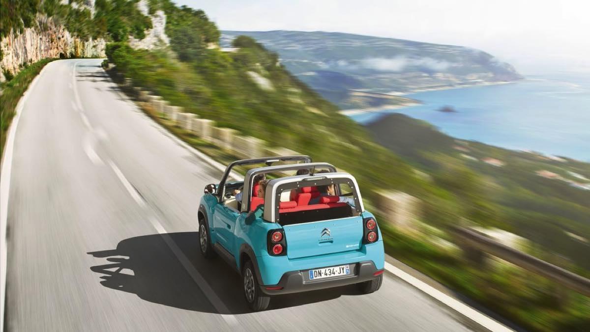 Coches para ser el rey de la playa - Citroën E-Mehari