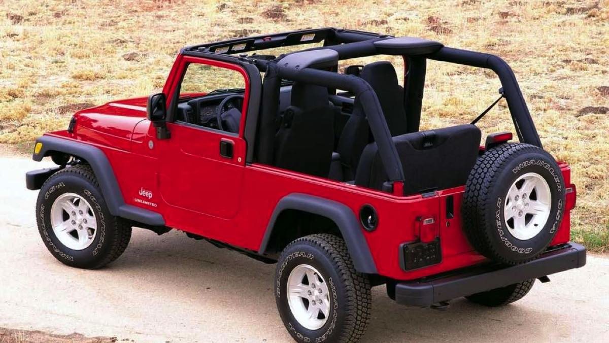 Coches para ser el rey de la playa - Jeep Wrangler
