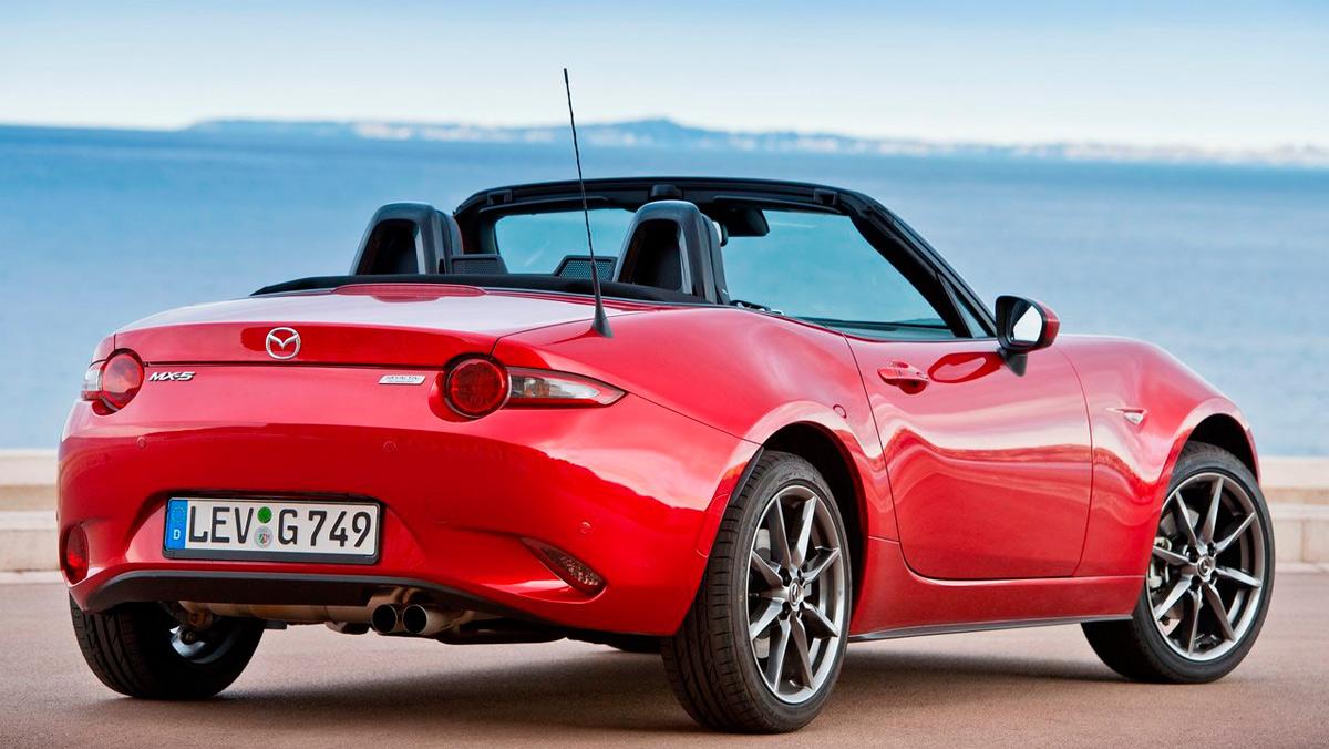 Coches para viajar despacito: Mazda MX-5 (II)