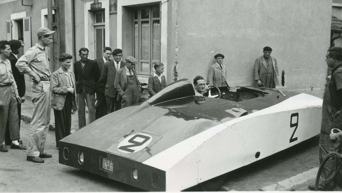 Los fans en Le Mans 1950, flipaos con el Monstre