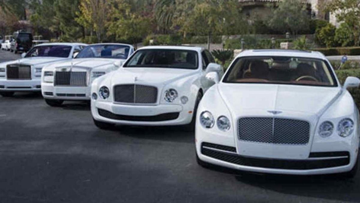 Flota de Rolls y Bentley de Floyd Mayweather