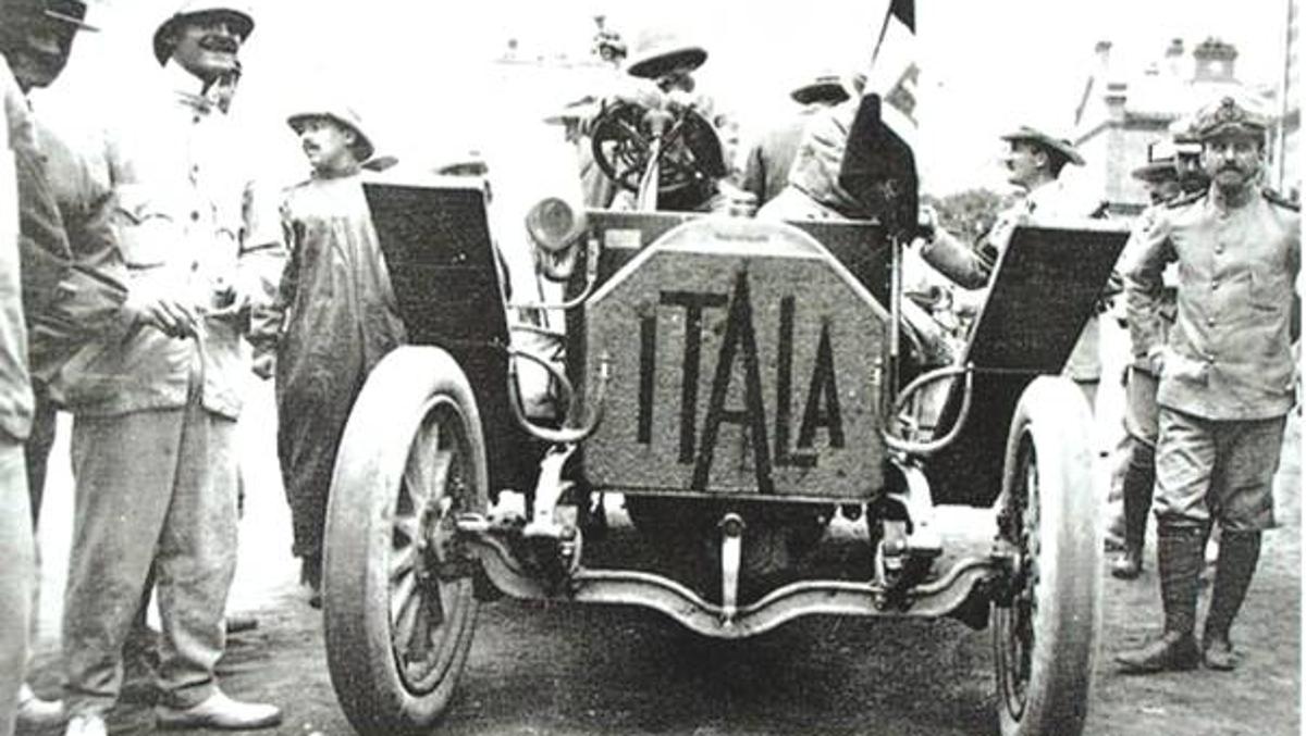 El Itala del príncipe Borghese Pekín-París 1907