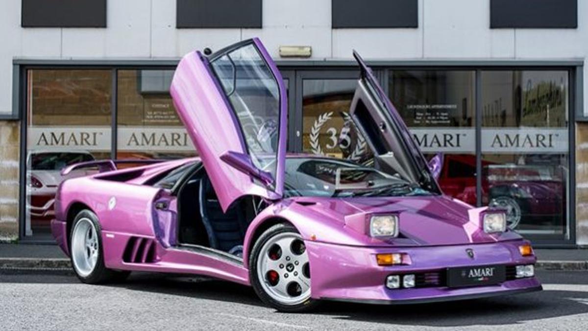 Lamborghini Diablo SE30 de Jamiroquai