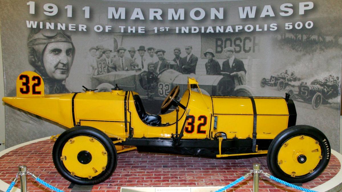 El Marmon Wasp 1911 en el Museo de Indianápolis