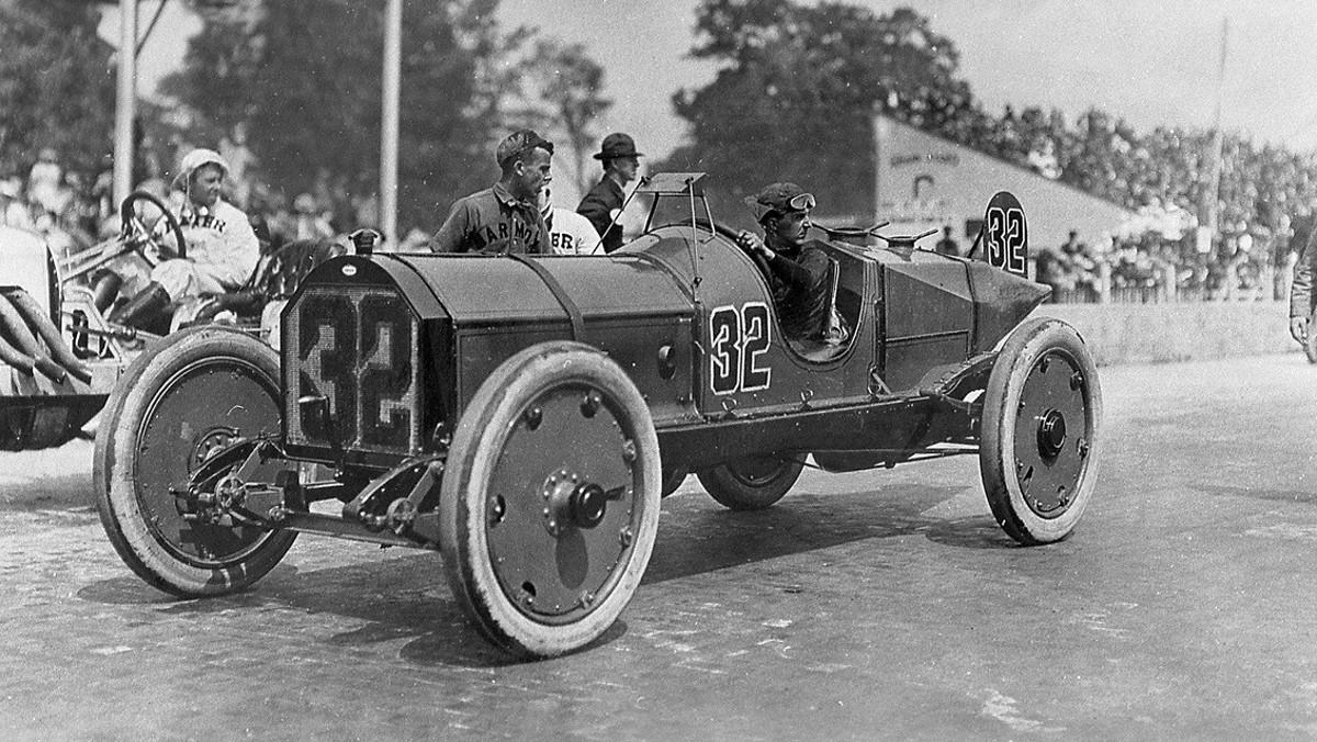 El Marmon Wasp en la Indy500 de 1911