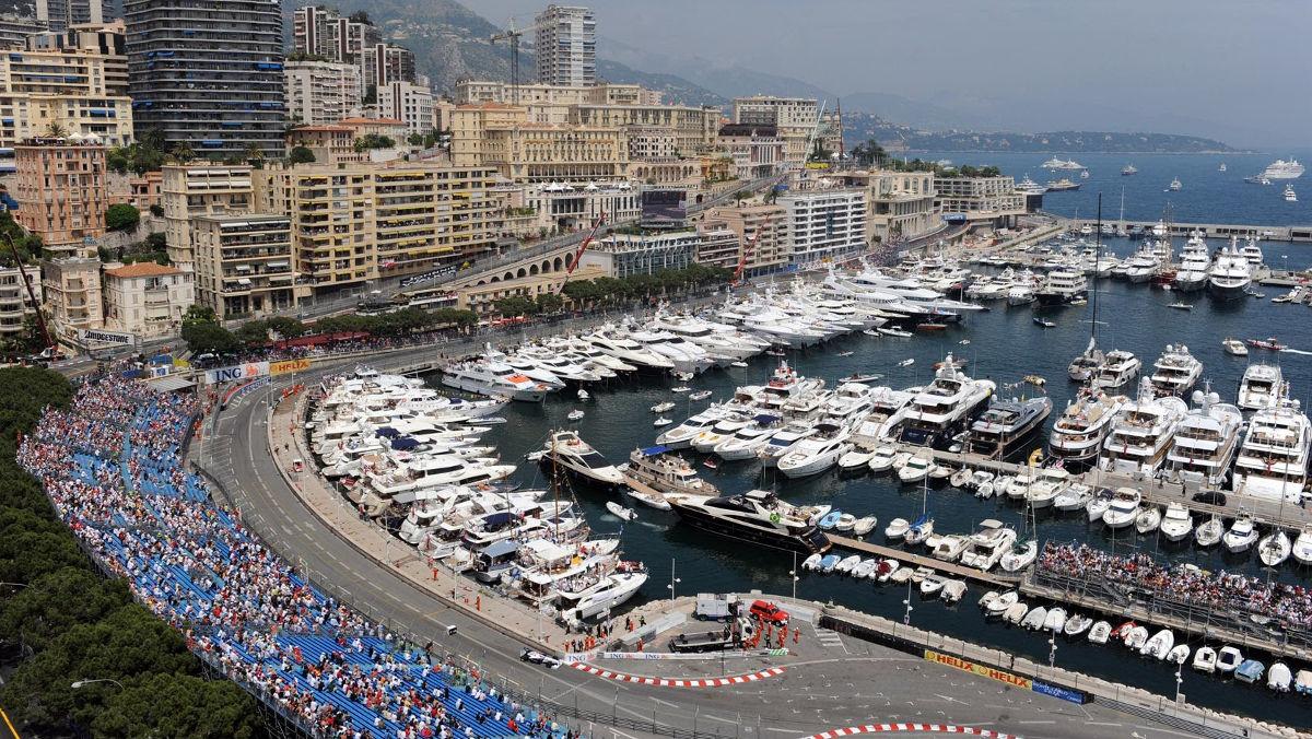 Mónaco, destino para los amantes de la F1
