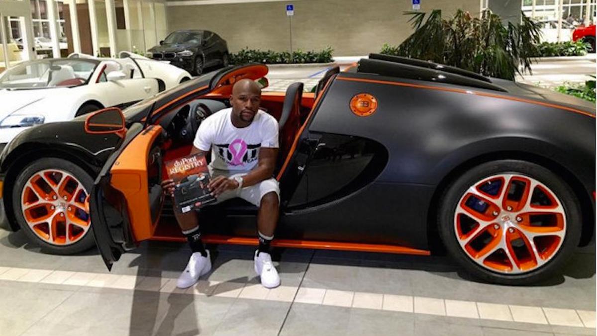 Otro Veyron de Floyd Mayweather