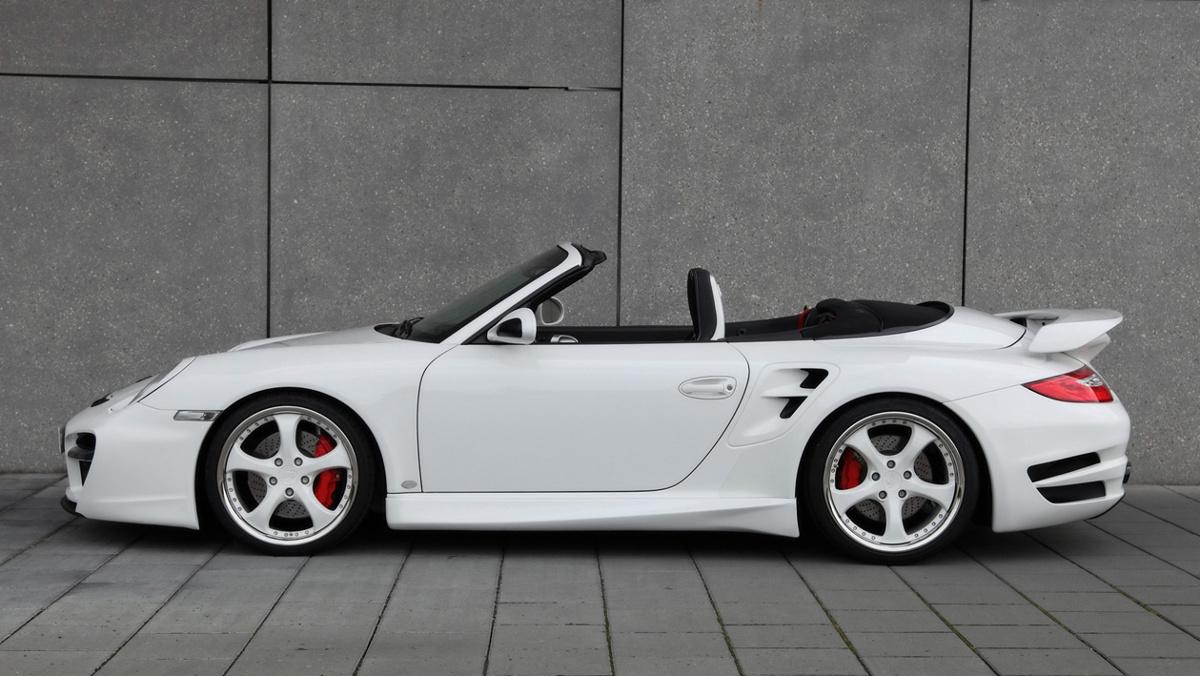 Porsche 911 Turbo Cabriolet del amigo Floyd