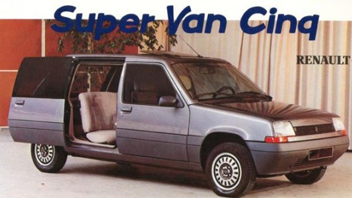Publicidad del Renault Super Van Cinq