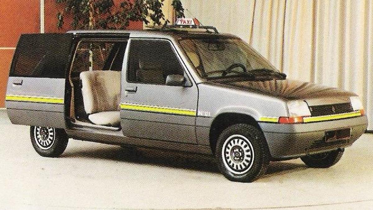 Qué molón es este Renault Super Van Cinq 2