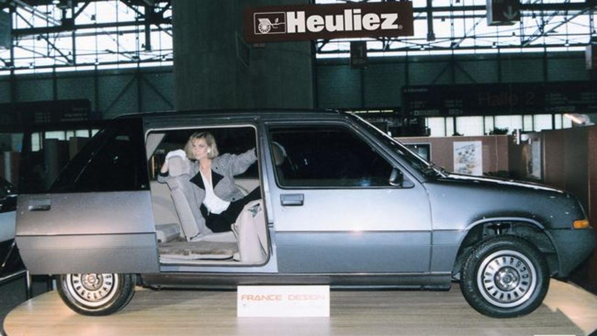 El Renault Super Van Cinq, reina en una expo