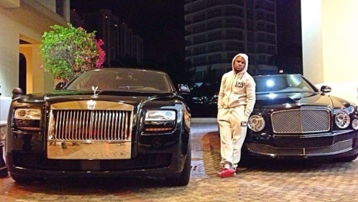 Rolls y Bentley, dos de las marcas fetiche del amigo Floyd