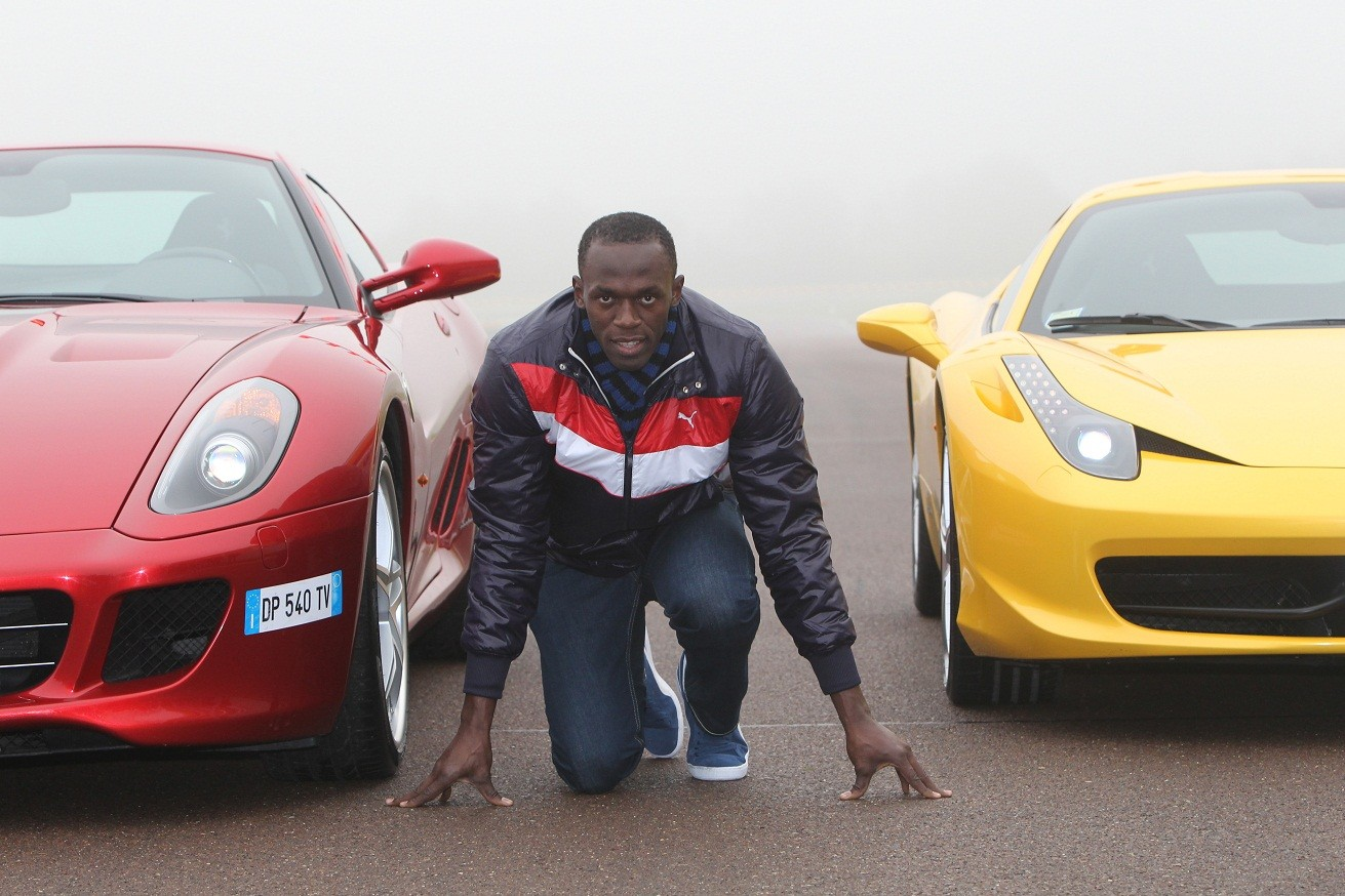 Usain Bolt vs Ferrari