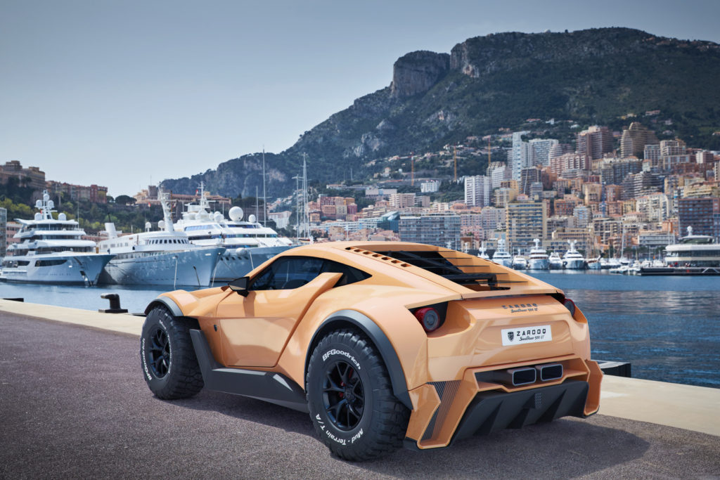 Zarooq SandRacer 500 GT, lujo y prestaciones