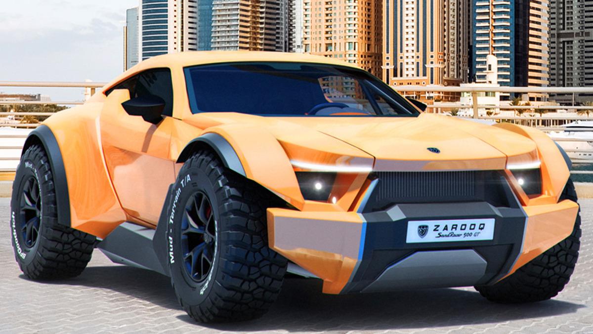 Zarooq SandRacer 500 GT, rey del desierto y el asfalto