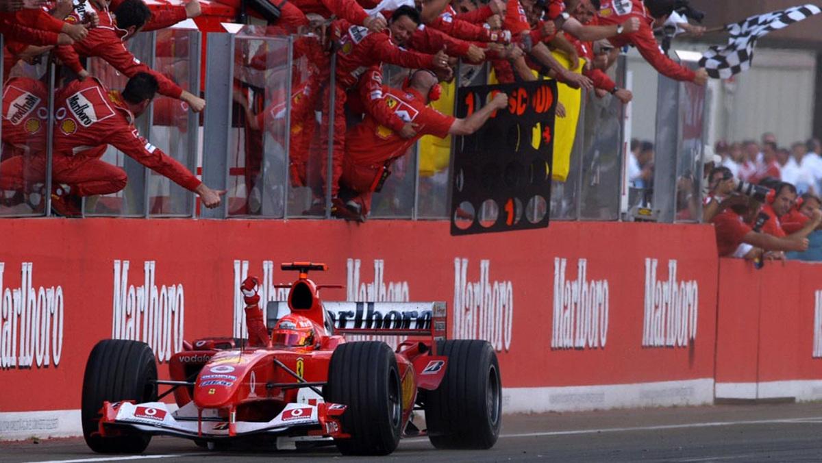 2004 Schumacher wins