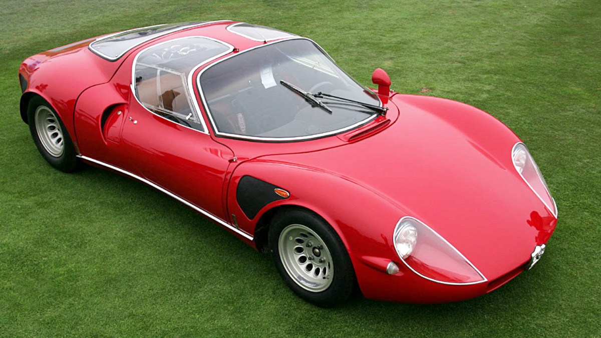 5 Alfa Romeo que nadie conoce - Alfa Romeo 33 Stradale