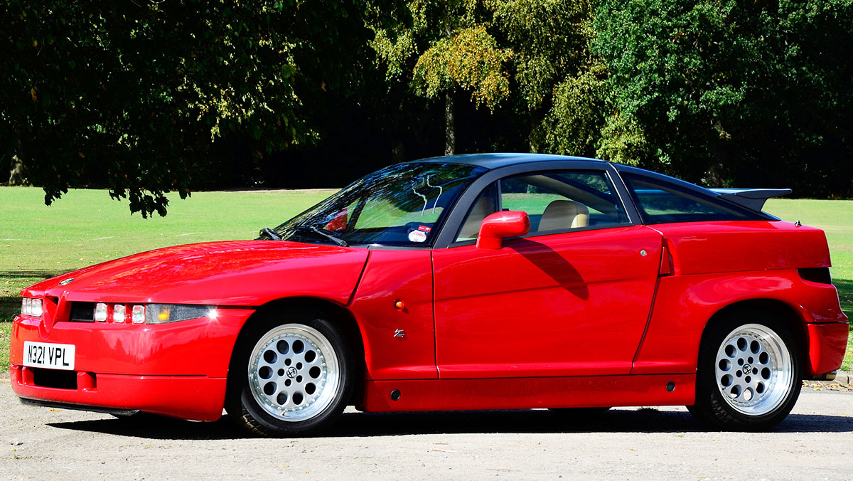 5 Alfa Romeo que nadie conoce - Alfa Romeo SZ / RZ