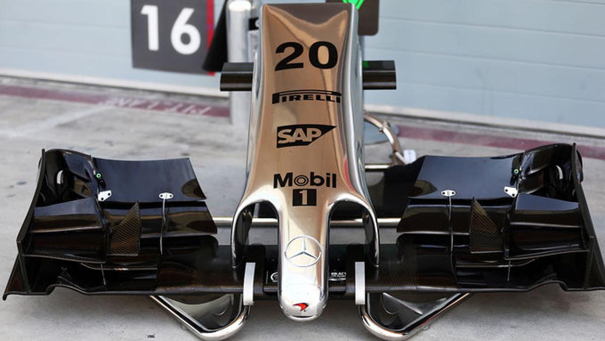 Alerón delantero F1