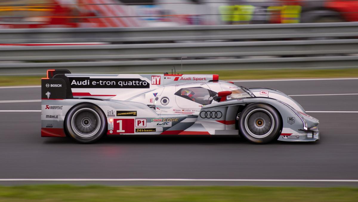 Audi R18 e-tron Quattro 2013 Le Mans