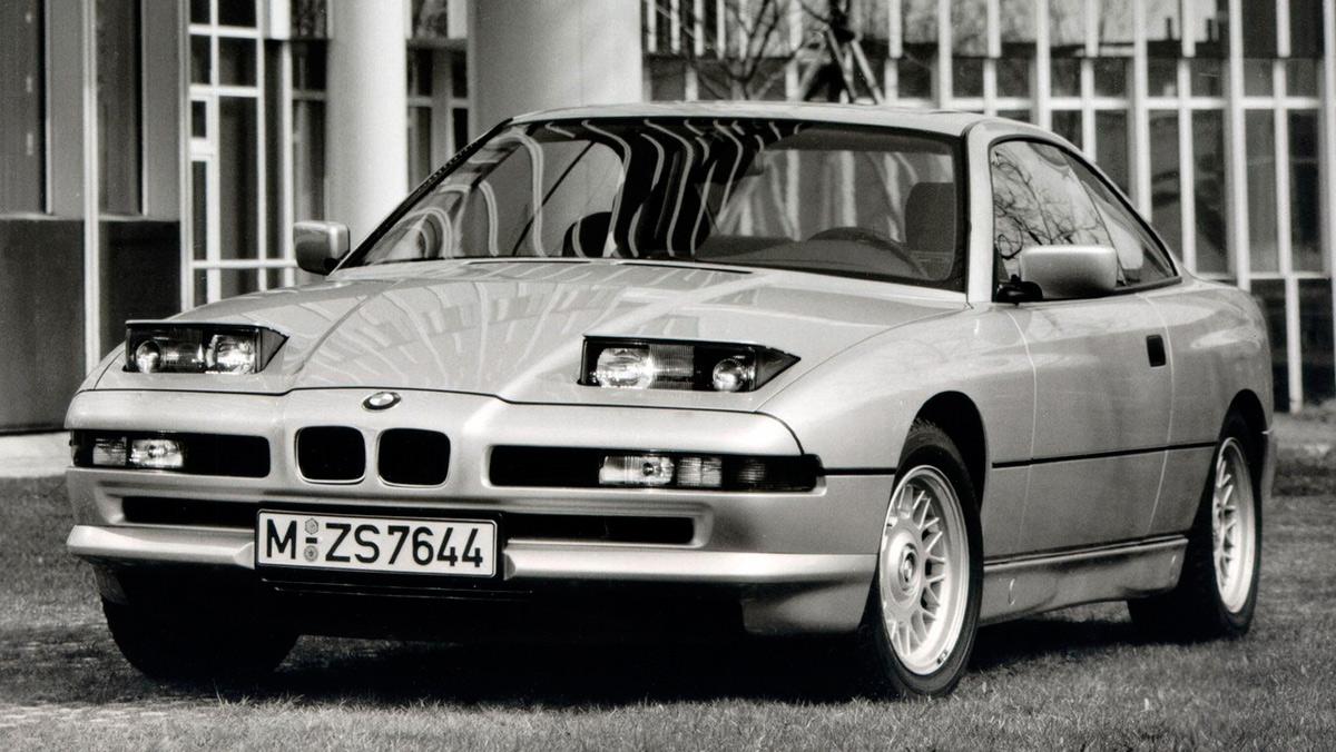 Coches de película: BMW 850i (II)