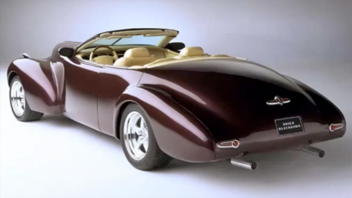 Coches de película: Buick Blackhawk Concept (II)