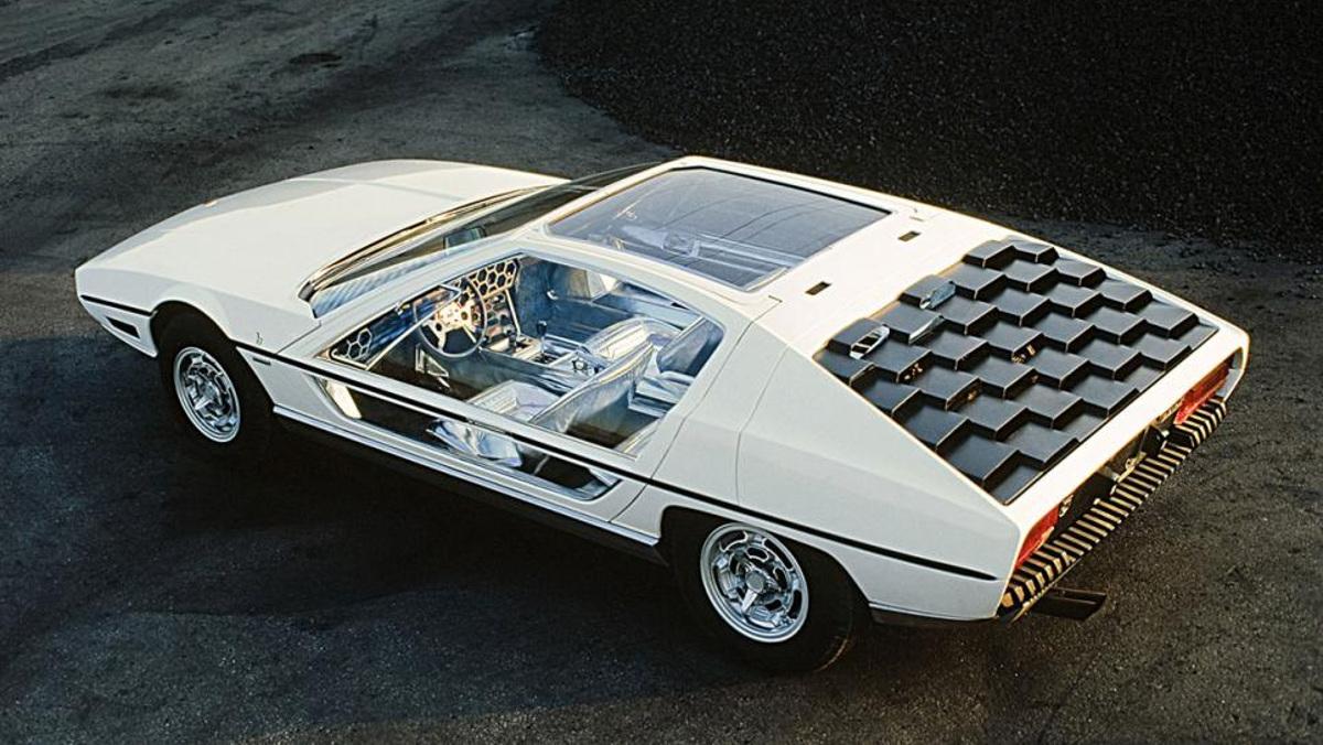 El diseño futurista del Lamborghini Marzal