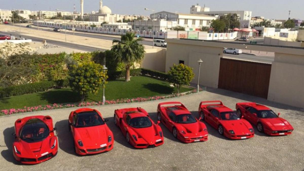 Ferrari cole de Brunéi