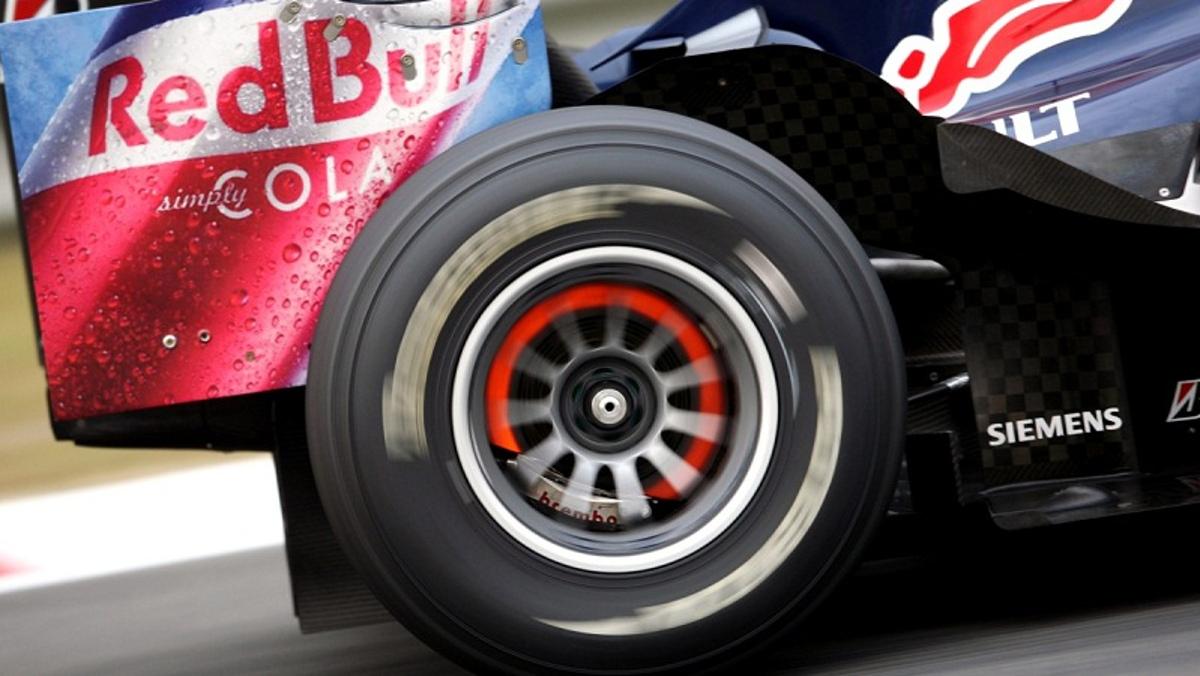 Frenos en un F1