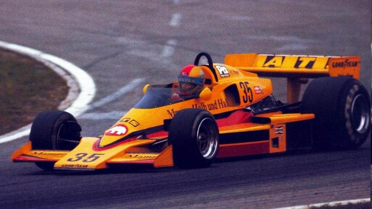 Hans Heyer, el 'héroe' del GP Alemania 1977