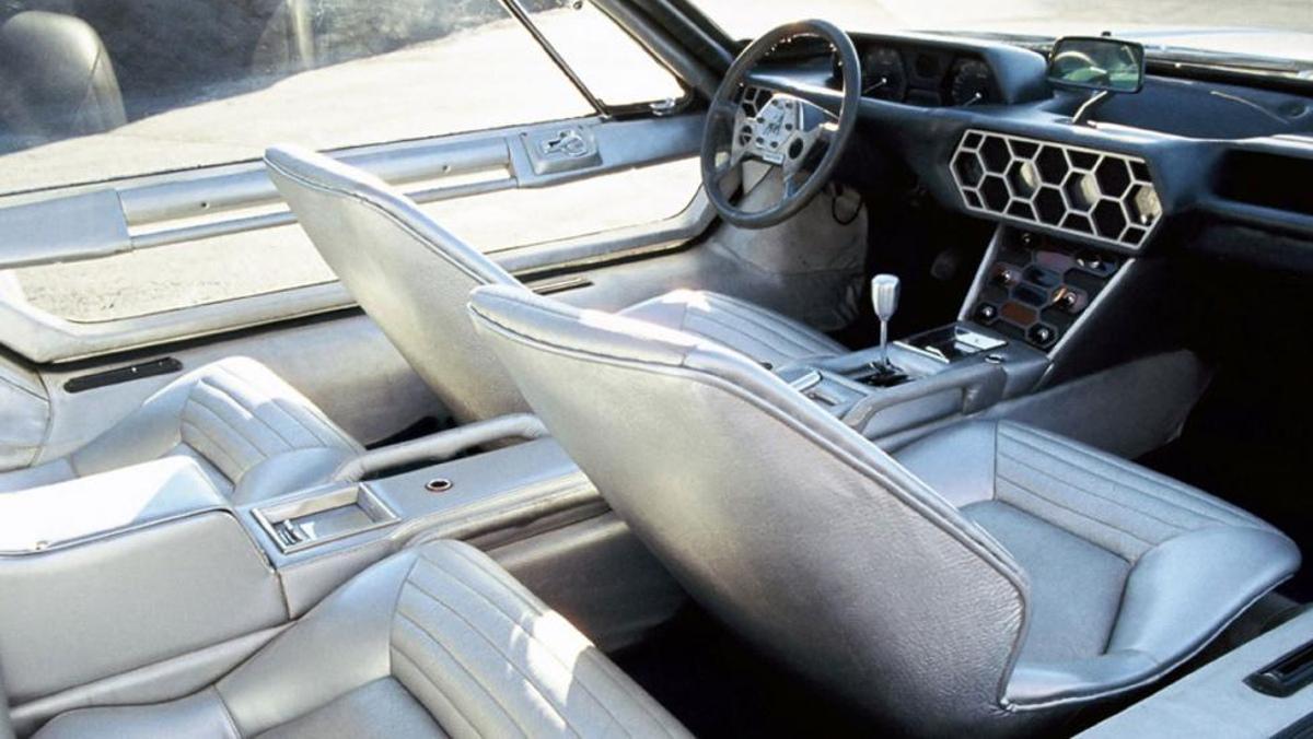 Interior del Lamborghini Marzal