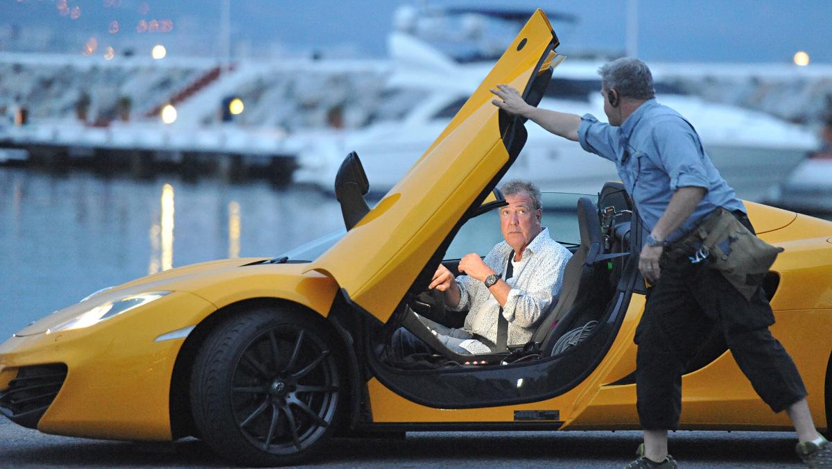 Jeremy y un McLaren 12C Spider