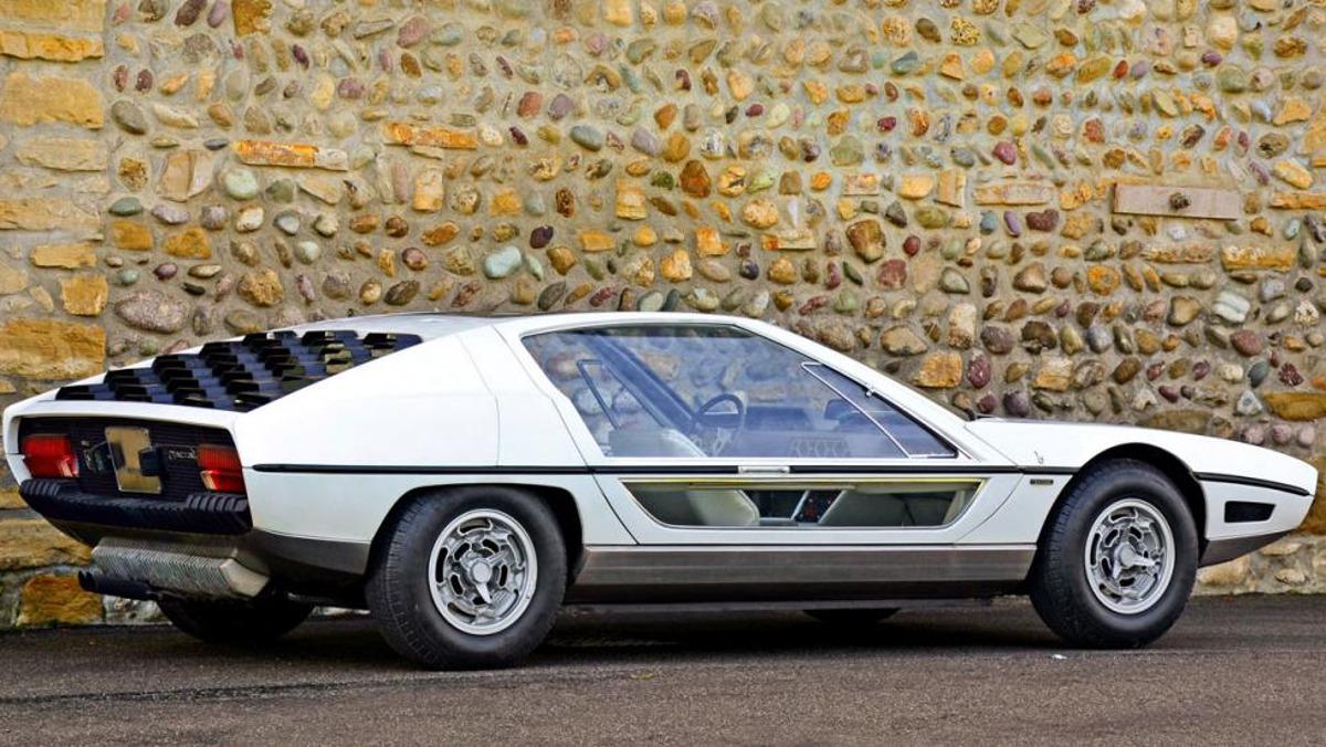 Lateral del Lamborghini Marzal