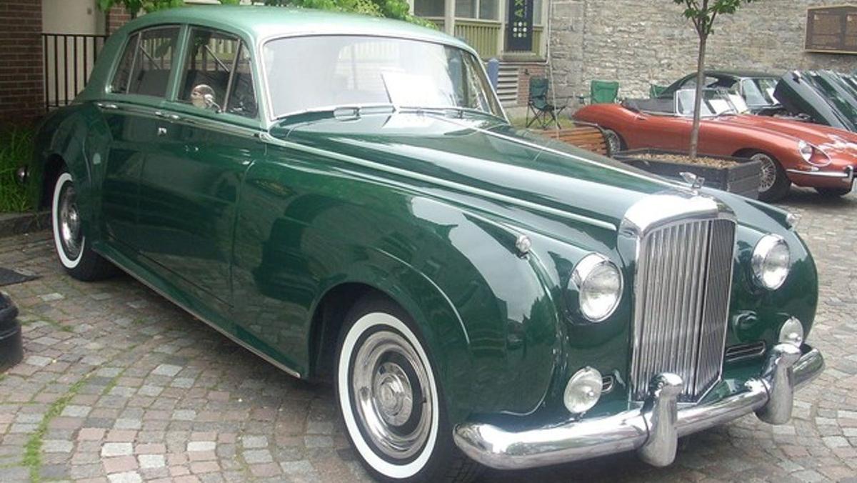 El lujoso BENTLEY S1 1950 de Hammond