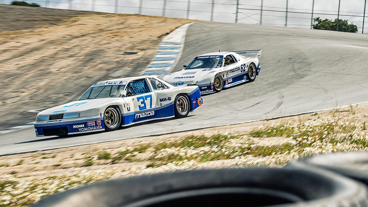 Mazda RX-7 y MX-6