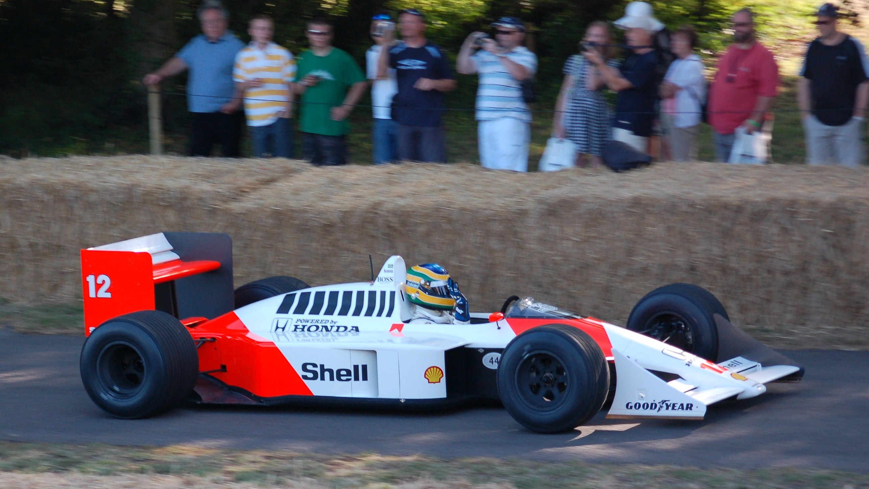 El McLaren MP4/4 de 1988