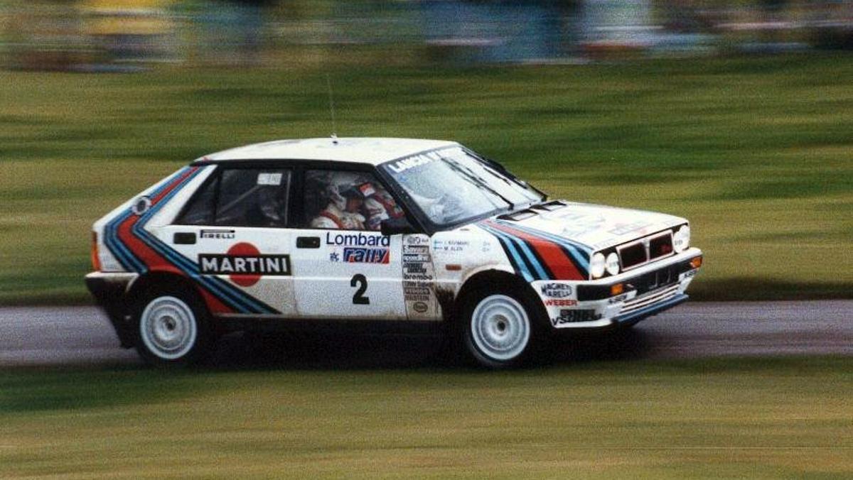 Los mejores coches del Motorsport: Lancia Delta