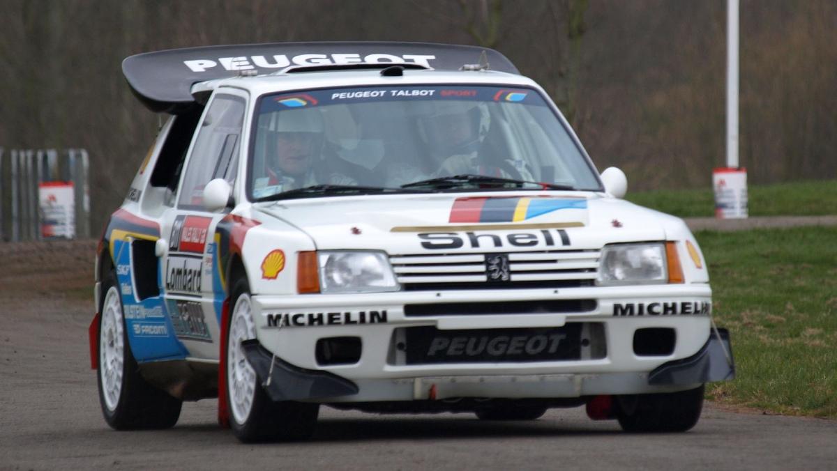 Los mejores coches del Motorsport: Peugeot 205 Turbo 16