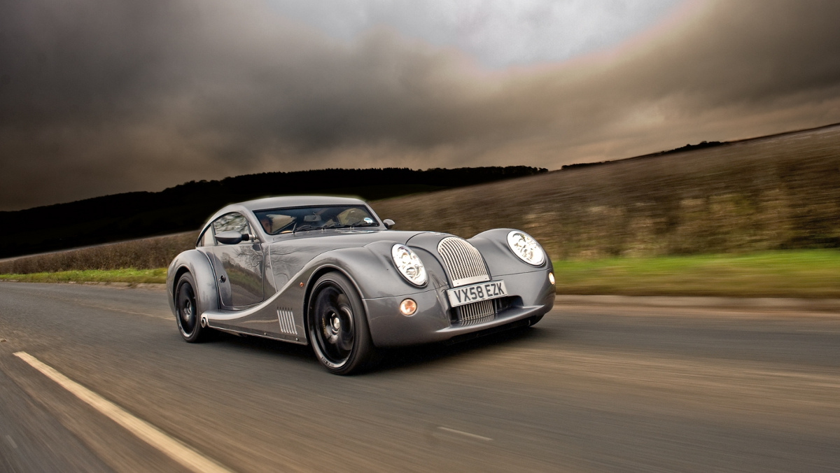 El Morgan Aeromax de Richard Hammond