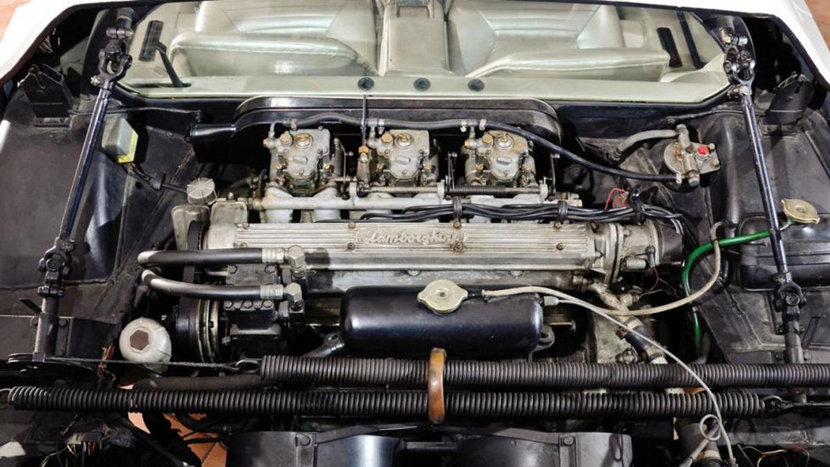 Motor del Lamborghini Marzal