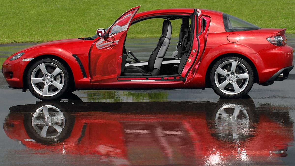 Puertas de coche: Mazda RX-8 (II)