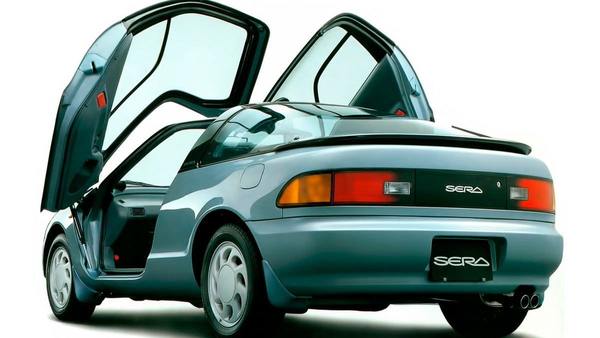 Puertas de coche: Toyota Sera (II)
