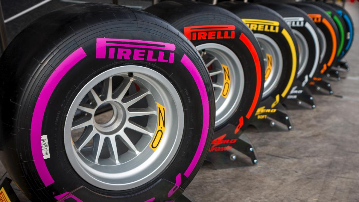 Así son las ruedas de un F1