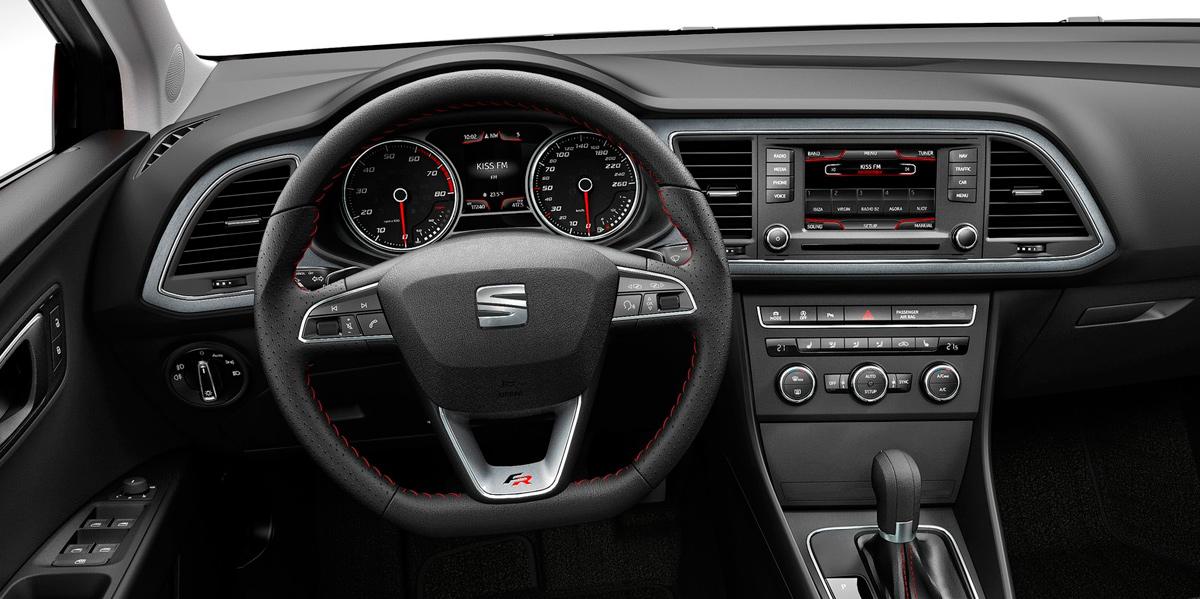 Seat León 2013 (interior)