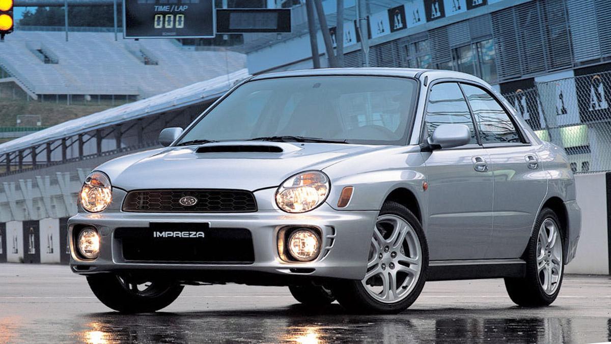 Subaru Impreza  WRX - Segunda generación - 2000