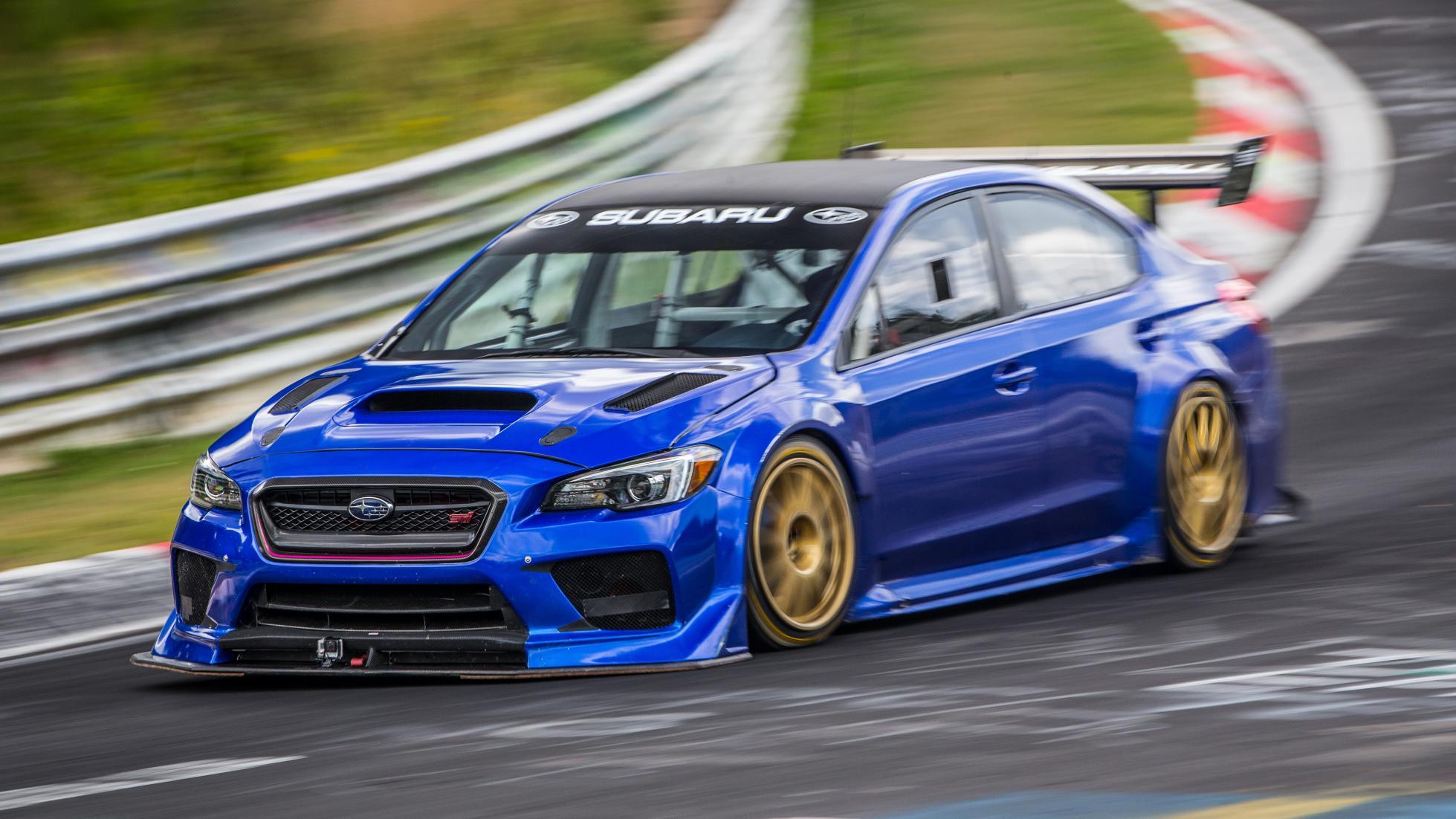 Subaru WRX STI, en Nürburgring